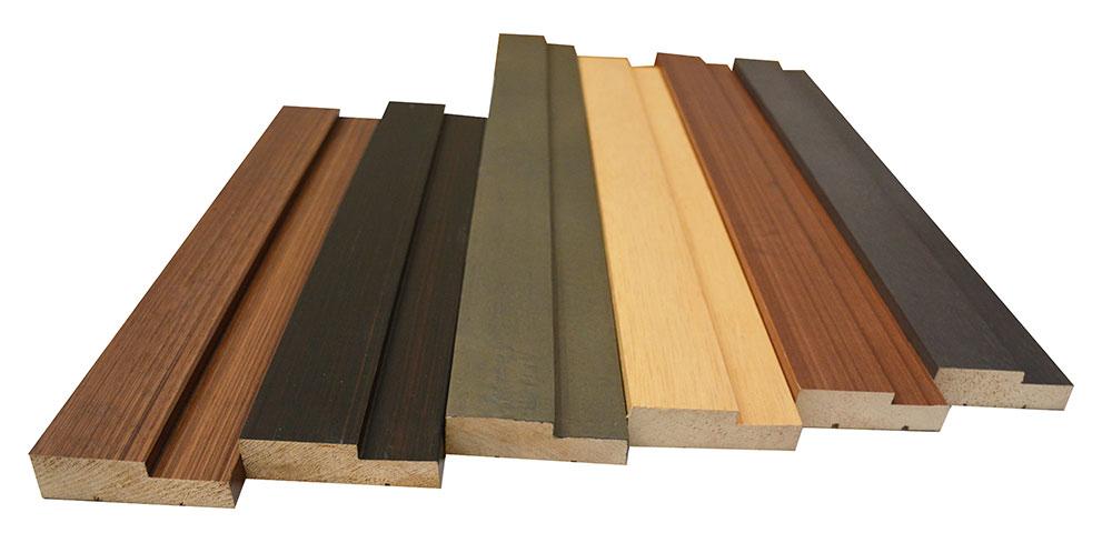 Maderas el bosque marcos en madera for Molduras de madera para pared