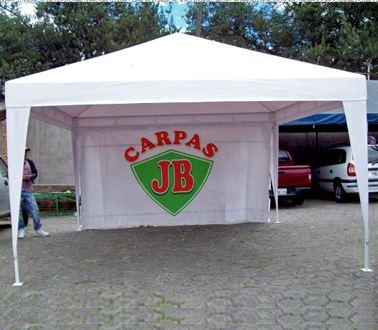 Carpas jb s a s venta de carpas en cali calle 32 no 6a for Carpas para coches