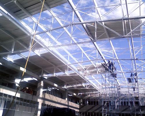 Acero y concreto s a s estructura met lica - Tipos de estructura metalica ...