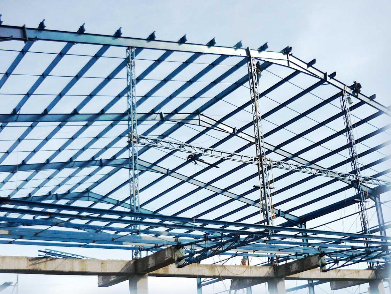 Acero y concreto s a s construcci n con estructura for Como hacer una estructura metalica para techo