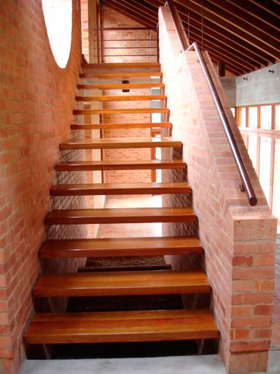 Escaleras En Madera Materiales De Construcci N Para La