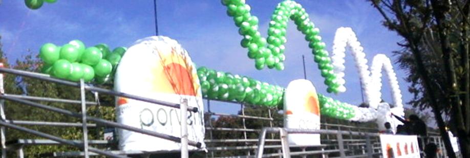 Bombas y globos bombas publicitarias en bogot calle 74 for Barrio ciudad jardin norte bogota
