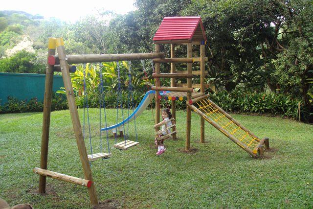 Juegos infantiles con madera imagui - Parque infantil de madera ...