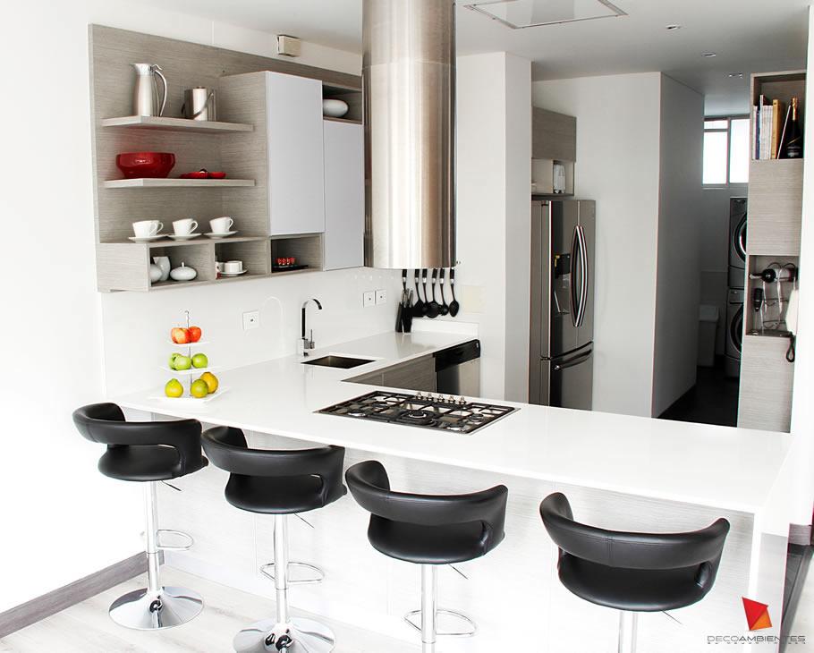 Diseo de cocinas integrales modernas stunning modelos de for Elementos de cocina bogota