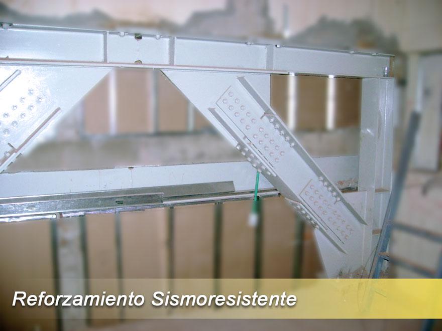 Acero y concreto s a s reforzamiento met lico en cali - Tipos de estructura metalica ...