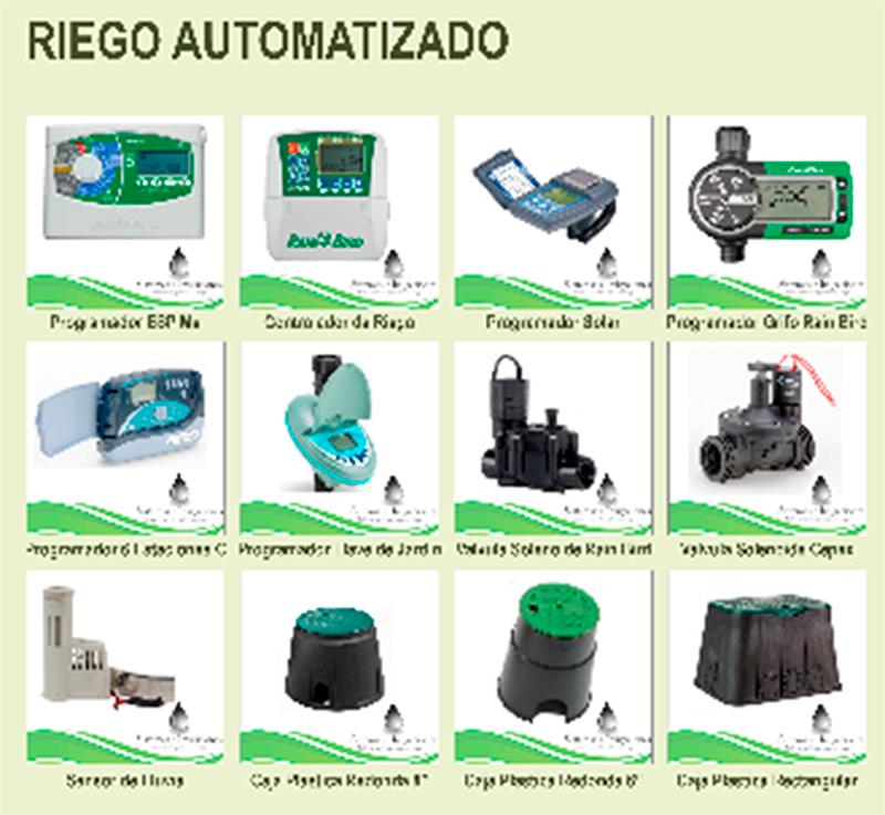 Sistemas e irrigaciones sistema de riego - Sistema de riego por goteo automatizado ...